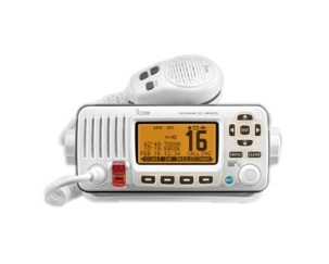 IC-M423W VHF TRANSCEIVER WHITE