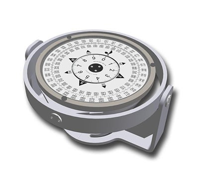 MD69/S SINGLE SP BEARING COMPASS REP