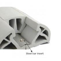STEEL BAR BUMPER 150/160 INSERT 2MT
