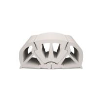 BUMPER PROFILE 100 WHITE (3PC SET)