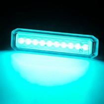 MIU10 UNDERWATER LED AQUA 10-30V
