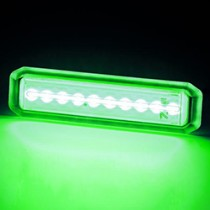 MIU10 UNDERWATER LED GREEN 10-30V