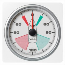 APPARENT WIND ANGLE GAUGE WHITE 360