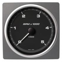 TACHOMETER 5000 RPM BLACK
