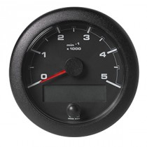 OL TACHO 5000RPM BLACK FACELIFT