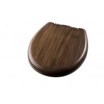 SEAT:WOOD WALNUT L=41.5 SIL