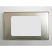 FACE PLATE: WHITE