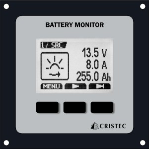 DIGITAL BATTERY MONITOR INC 1 SHUNT/CABL