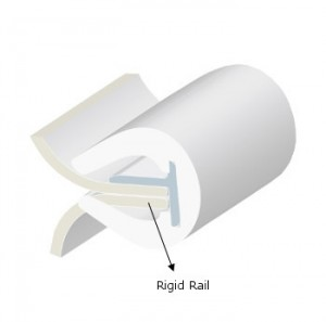RIGID TRACK PVC T16