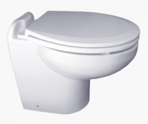 ELEGANCE TOILET:PB PRESS 24V WHITE