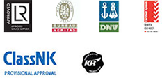 AMI Marine is approved by Lloyds, Bureau Veritas, DNV, ISO 9001, ClassNK, KR