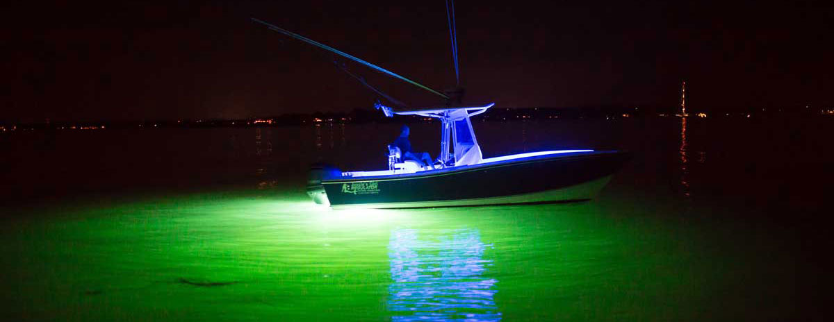 Why Buy Underwater Led Lights For Your Fishing Boat