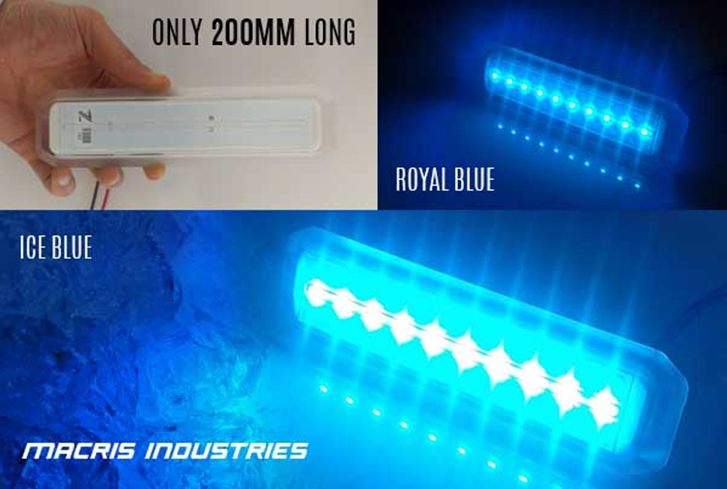 Macris Industries 200mm Long Underwater LED