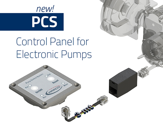 PCS Control Panel for Electronic Pumps