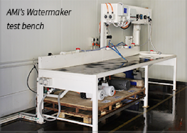 AMI's Watermaker Test Bench