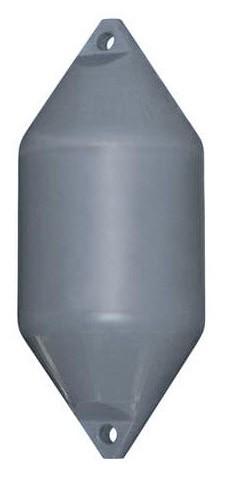 HDF9 AIR-FILLED PLASTIC FENDER GREY 500X