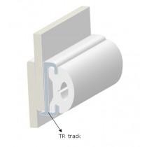 PVC PROFILE TR40-RIGID TRACK WHITE