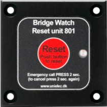RESET UNIT W/ VISUAL ALARM FOR BW-800