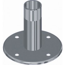 """BASE DECK MOUNT S/S FOR GPS 1"""" THREAD"""