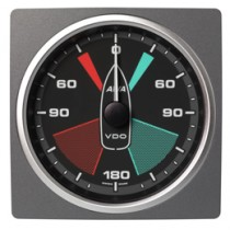 APPARENT WIND ANGLE GAUGE BLACK 360