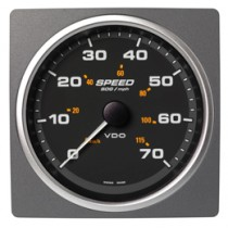 SPEED OVER GROUND 70MPH/115KMH BLACK