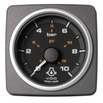 ENGINE OIL PRESSURE 10 BAR / 150 PSI BLA