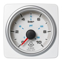 ENGINE OIL PRESSURE 10 BAR / 150 PSI WHI