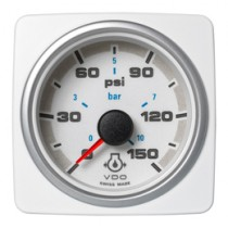ENGINE OIL PRESSURE 150 PSI / 10 BAR WHI