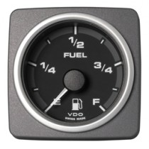 FUEL LEVEL GAUGE E-F  BLACK