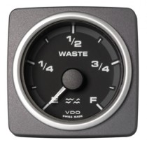 WASTE WATER GAUGE E-F BLACK