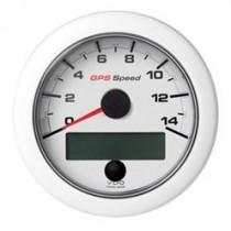 OL GPS SPEEDO 0-14 KNOTS/KMH/MPH WHITE