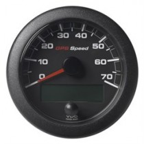 OL GPS SPEEDO 0-70 KNOTS/KMH/MPH BLACK