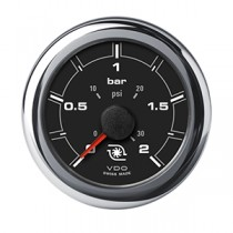 OL BOOST PRESSURE 2 BAR / 30 PSI BLACK