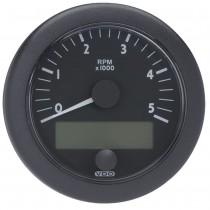 OL TACHO 5000RPM 12-24V CAN DZM BLACK FA