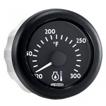 OL ENGINE OIL TEMP 100-300F BLACK