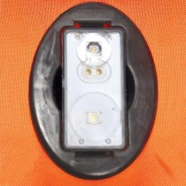 """LALIZAS Lifejacket LED flashing light """"Alkalite II"""" ON-OFF water activated, USCG, SOLAS/MED"""