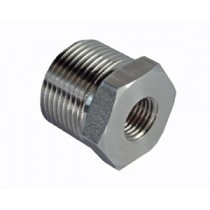 "ADAPTOR: 3/4"" BSP TO 1/4"" NPT STAINLESS"
