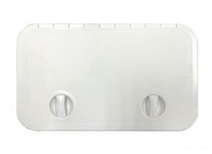 SOPAC HATCH LGE NEW WHT 595x355mm