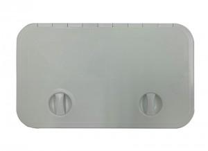 SOPAC HATCH LGE GREY 595x355mm
