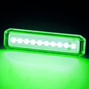 MIU10 UNDERWATER LED GREEN 10-30V