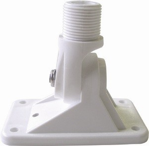 WHITE NYL RATCHET MNT FOR GPS MNT