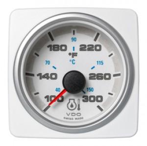 ENGINE OIL TEMP. 300F / 150C WHITE