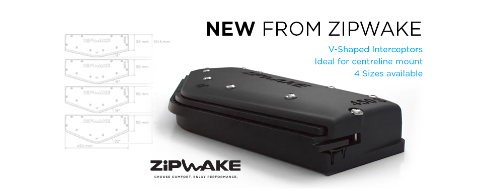 Zipwake V-Shaped Interceptors